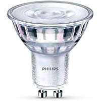 Philips LED Classic GU10 Dimmable Glass Spot Light, Halogen Replacement, 4.4 W (35 W) - Cool White