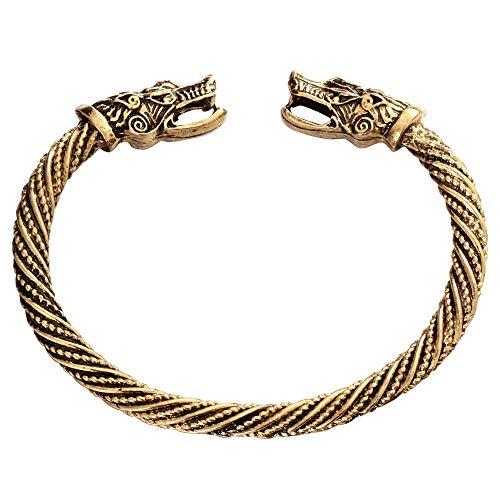 d Armbänder Armband,Herrschsüchtig Cool Teen Wolf Kopf Armband Schmuck Mode-Accessoires Armband Männer Armband Manschette Armbänder Für Frauen Armreifen ()