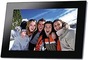 Somikon Digitaler Wlan Bilderrahmen Mit 25 7 Cm Ips Touchscreen 10 1