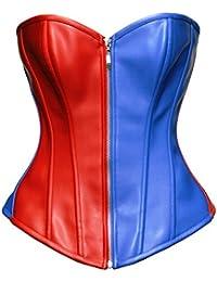 BSLINGERIE® femmes simili cuir bustier corset haut