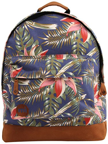 Mi-Pac Premium, Mochila Tipo Casual, 41 cm, 17 Litros, Palm Floral