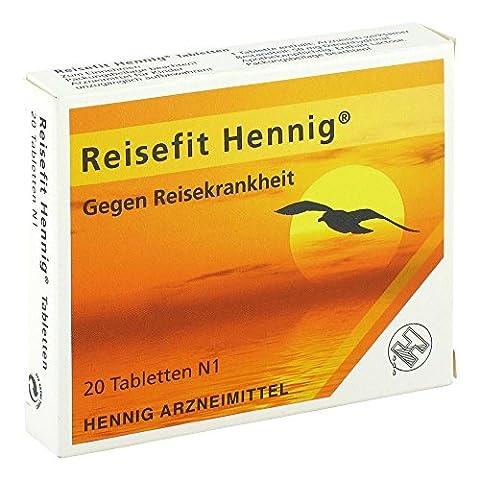 REISEFIT Hennig 50 mg Tabletten 20 St Tabletten