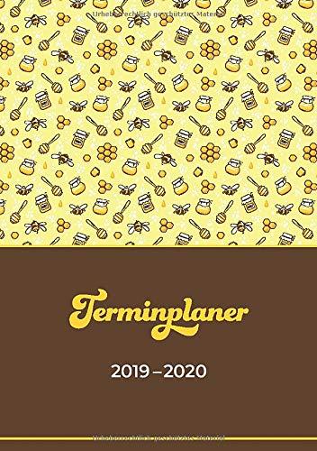 Terminplaner 2019-2020: Geschenkidee für Imker | Juli 2019 bis Dezember 2020 | Wochentage unterteilt von 7.00 bis 21.00 Uhr | Soft Cover