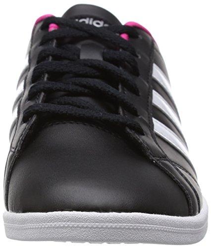 adidas  Coneo Qt, Chaussures femme Noir (Core Black/Ftwr White/Matte Silver)