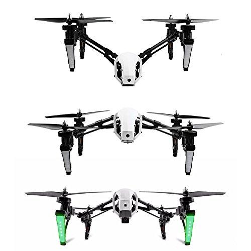 Wltoys Q333A FPV Drohne mit Kamera und Bildschirm 5.8G Live Übertragung Monitor 720P Cam Headless Modus für Erfahrener, mit 4G Speicherkarte, Garantie, 2 Akkus, Deutsche Anleitung, Weiß - 4