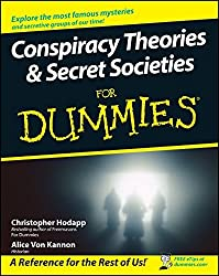 Conspiracy Theories and Secret Societies For Dummies by Christopher Hodapp (2008-03-31)
