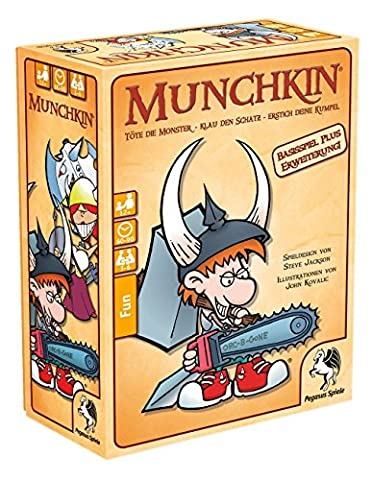 Pegasus Spiele 17222G - Munchkin 1+2 (Blutige Kettensäge)