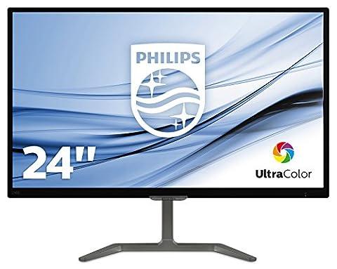 Philips 246E7QDAB/00 23,6 cm (23,6 Zoll) Monitor (VGA, DVI, HDMI, 1920 x 1080, integrierte Lautsprecher),