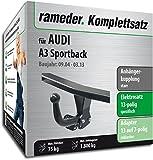 Rameder Komplettsatz, Anhängerkupplung starr + 13pol Elektrik für Audi A3 Sportback (148022-05143-1)