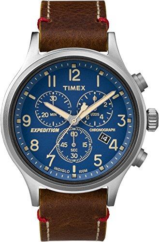 Timex Hommes Analogique Quartz Montre avec Bracelet en Cuir TWC013900