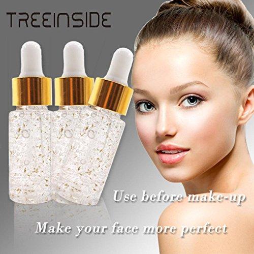 smileq ätherisches Öl Rose Gold Haut Make-up Foundation ätherisches Öl Feuchtigkeitsspendende Gesicht Öl für alle Haut 15ml, a