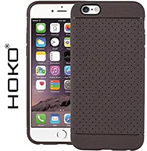 iPhone 6 Plus Case, HOKO® Honey bee Grip Tpu Soft Hybrid Back Case Cover For Apple iPhone 6 Plus (Brown)