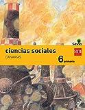 Ciencias sociales. 6 Primaria. Savia. Canarias - 9788467575811