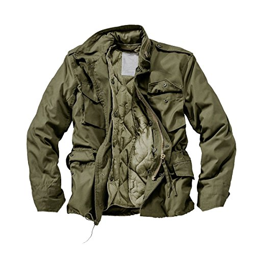 DELTA Industries M65 Fieldjacket, Oliv, Grš§e M -