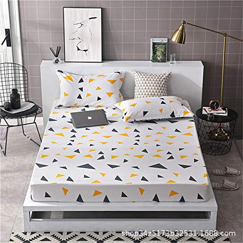 hllhpc Bettbezüge für Einzelbetten Bettbezug für Schlafsäle rutschfeste Simmons-Matratzenbezüge 17 180 * 200