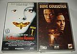 Collection Thriller / Le Silence Des Agneaux - Bone Collector [VHS] Cassette Vidéo