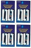 Aufsteckbürsten Ersatzzahnbürsten Ersatz Zahnbürsten für Oral-B elektrische Zahnbürsten 16 Stück