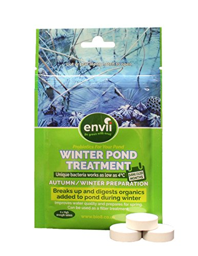 Envii Winter Pond Treatment – Winter Pond Treatment Reduces Sludge and Improves Water Clarity – Treats Up To 45,000… 1