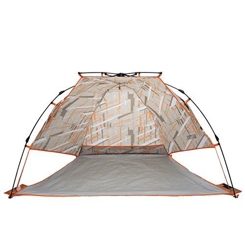 Umi.Essentials Strandzelt Strandmuschel Regen-Sonnen Leicht Schneller Aufbau Amt für Outdoor-Camping