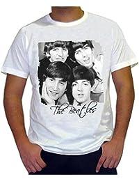 The Beatles H : T-shirt imprimé célébrité 7015250