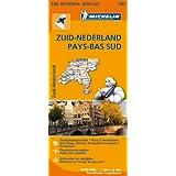 Carte Pays-Bas Sud Michelin