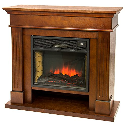Divina fire camino elettrico 1800w effetto fiamma viva riscaldamento vulcano-m
