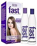 Fast Duo shampoing et après-shampoing Sans sulfate ni parabène 300 ml