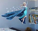 Frozen Die Eiskönigin Schneemann Aisha Schlafzimmer Kinderzimmer Kinderzimmer entfernbare Wandaufkleber