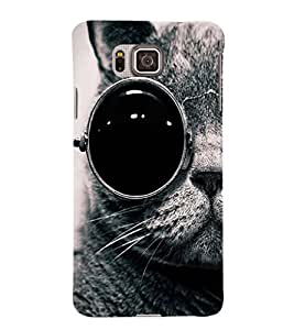 Ebby Premium Printed Mobile Back Case Cover With Full protection For Samsung Galaxy Alpha (Designer Case)
