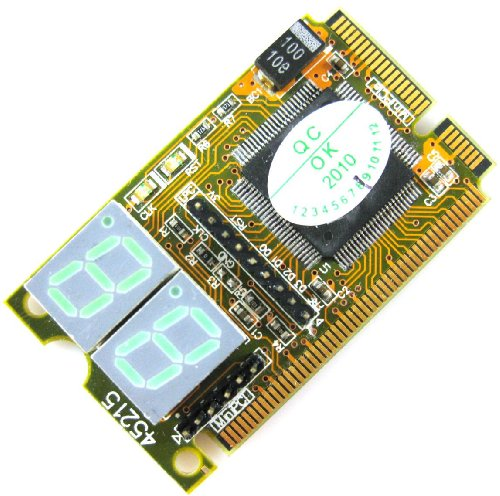 XRP 3 in 1 Mini PCI & PCI-E & LPC PC Computer Motherboard Analyzer Tester Diagnostic Debug POST Card  available at amazon for Rs.1890
