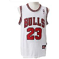 LinkLvoe Maglia da Basket Chicago Bulls NBA Michael Jordan n. 23 Maschile, i fedeli Fan dei Los Angeles Lakers e Lebron James Non devono Perdere Questa Maglia