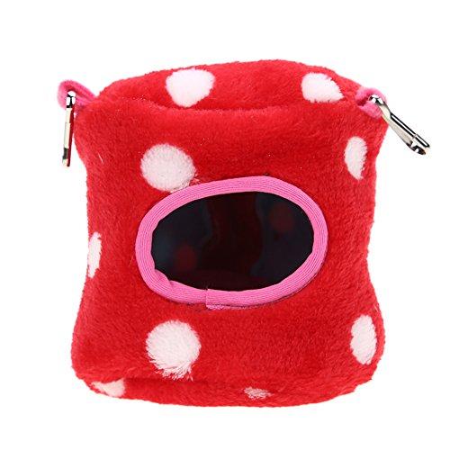 Domybest Warm Haustier Hamster mit Soft-Korb, Bett für Haustiere, Eichhörnchen Fox Hamster