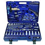 PROMAT 820225 Steckschlüsselwerkzeug Koffer CV. 93tlg. PROMAT 1/4 u.1,3 cm (0,5 Zoll)