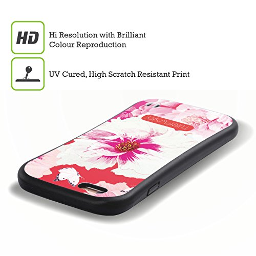 Ufficiale Turnowsky Cielo Floreale Essenza Di Bocciolo Case Ibrida per Apple iPhone 6 Plus / 6s Plus Paradiso Fucsia