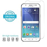 Military Grade Anti-Scratch Tempered Glass Screen Guard for Samsung Galaxy J7 (2015 version) (0.3mm, Clear)