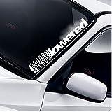 Lowered Coil Frontscheibe Windschutzscheibe Heckscheibe Static Auto Aufkleber Stance Slammed Low DUB Drift JDM Tuning Frontscheibenaufkleber
