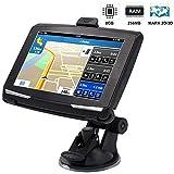HIEHA GPS Voiture 5 Pouces Navigateur GPS Camions, 8 Go Écran Tactile...