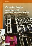 Criminología ambiental: Ecología del delito y de la seguridad (Manuales)
