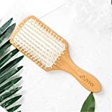 jyhyeu Keratin ÖL infundiert natürlichen Holz Massage Haar Paddel brush-beauty Spa Kamm Detangler Bürste für alle Haartypen verbessern Haar growthh