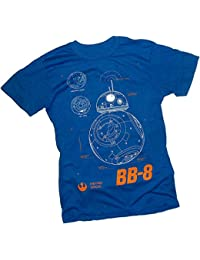 BB-8 Plans -- Star Wars Ep VII: The Force Awakens Adult T-Shirt