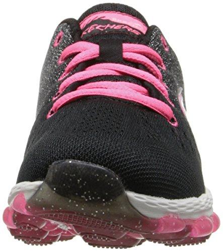 Skechers Mädchen Skech Air Ultra-Glitterbeam Sneaker Black (Black/Neon Pink) Dp7Ad4vN