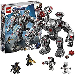 LEGO Marvel Super Heroes - L'armure de War Machine - Jeu de construction - 76124