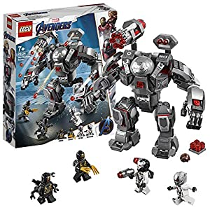 LEGO Super Heroes War Machine Buster Action Figure con Minifigure di Ant-Man, Playset dei Supereroi, 76124 LEGO Minifigure LEGO