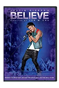 Justin Bieber's Believe [Import anglais]