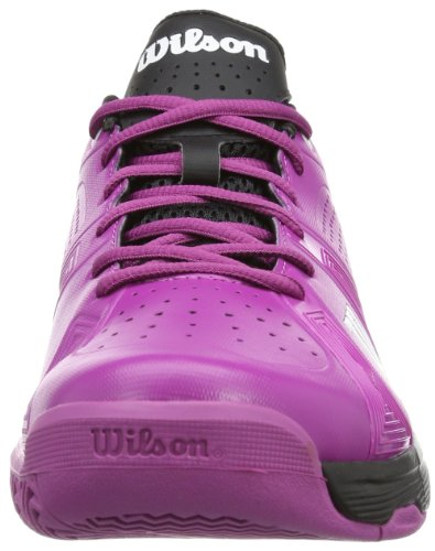 Wilson RUSH SPORT W NEW FUSHIA/NEW FUSHIA/BLA 9 WRS318060E090 Damen Tennisschuhe Mehrfarbig (New Fuchsia/New Fuchsia/Black)