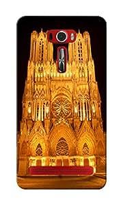 KnapCase Reims Cathedral Designer 3D Printed Case Cover For Asus Zenfone 2 Laser ZE601