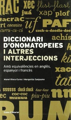 Diccionari d'onomatopeies i altres interjeccions (Llengua i text)