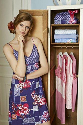 Bloomy -  Camicia da notte  - Donna Lila