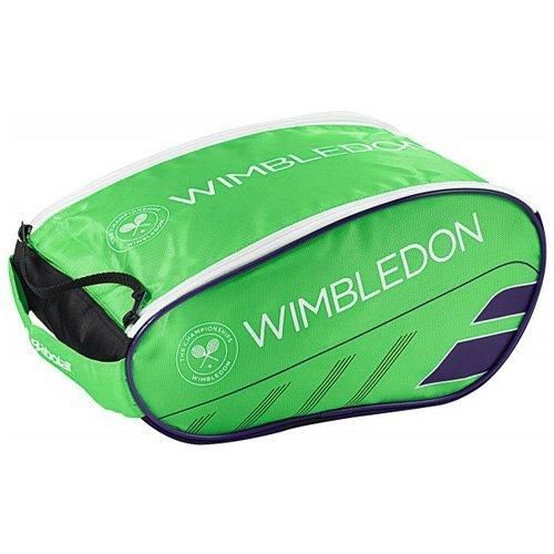 Babolat Borsa Shoe Bag Wimbledon, verde, 70x 50x 10cm, 0,4litri,