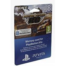 PS Vita - Tarjeta De Memoria De 8GB + MotorStorm  Voucher